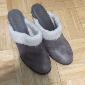 Comfy and stylish mules/slippers